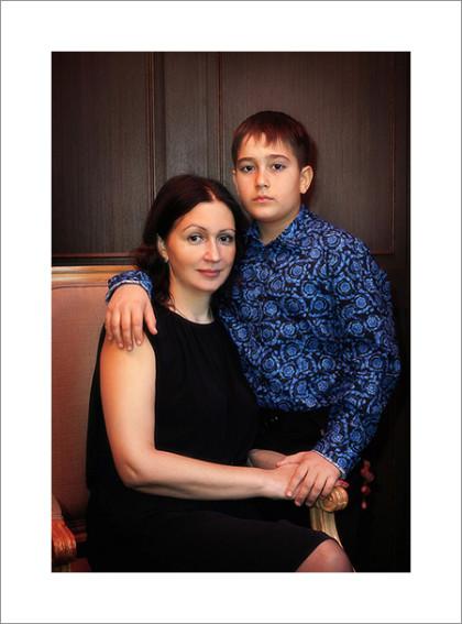 Классическая портретная фотография. Фотограф в Кемерово Алексей Поселенов