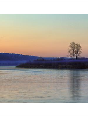 Весенний сибирский пейзаж