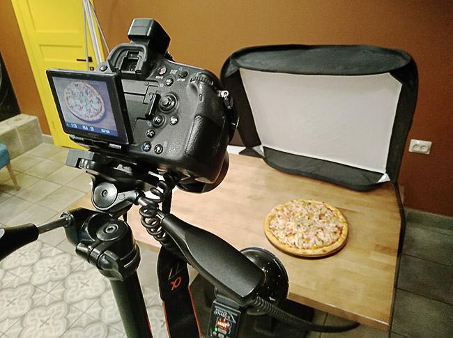 Фотосъемка пиццы в Кемерово
